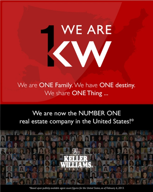 Keller Williams Realty #1 In the United States